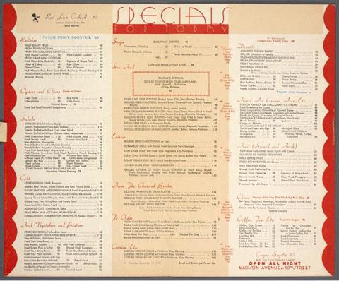 cravings menu designs