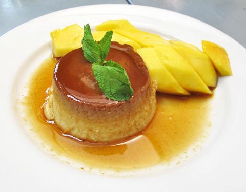 Coconut Flan @ Cafe Asean