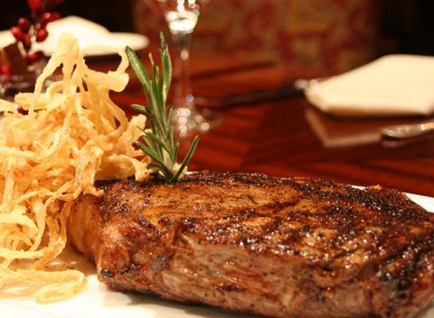 Delmonico Steak @ Delmonico's