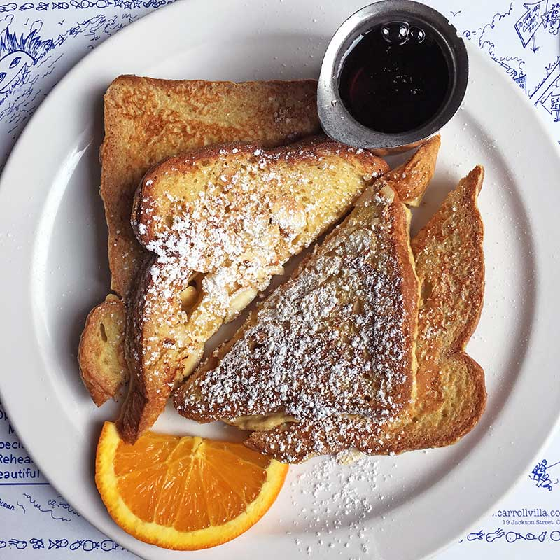 Almond French Toast at The Mad Batter / Celia Sin-Tien Cheng