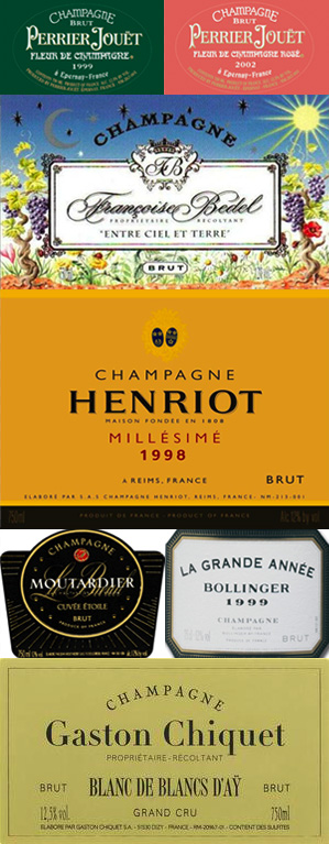 Eight Grand Champagnes for Toasting and Beyond