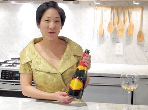 A Sparkling Moment: 2004 Iron Horse Chinese Cuvee